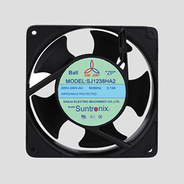Taiwan Sanju SJ1238HA2-5F-AC axial flow fan